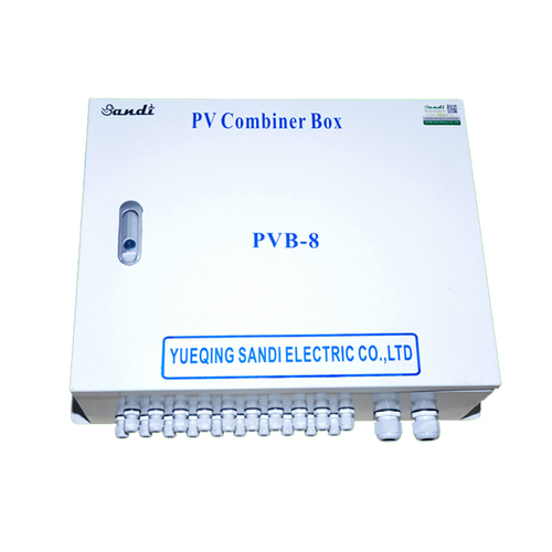 Solar System PV Array Junction Box 8 in 1 out