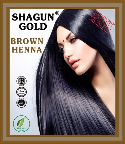 Herbal Henna Based Brown Hair dyes