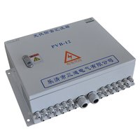 Solar Strings Combiner Box for PV system with surge protection