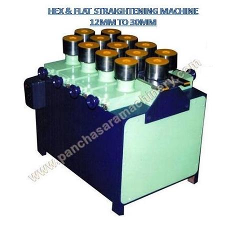 Hex & Flat Straightening Machine 12mm to 20mm