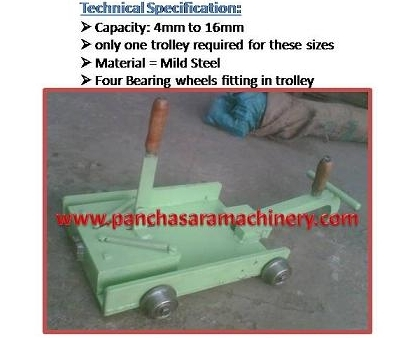 Draw Bench Trolley Manufacturer