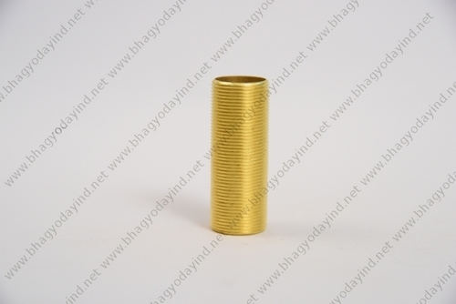 Brass Full Threaded Barrel Nipple