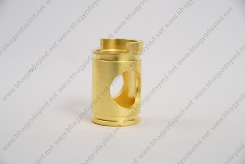 Precision Brass Disc Fitting Part
