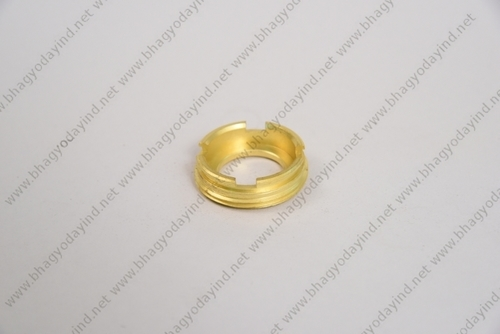 Brass Slotted Round Lock Nut