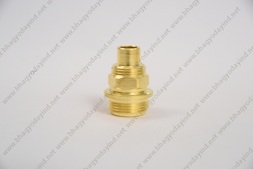 Brass Spindle Part
