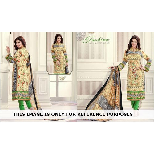 Printed Designer Straight Suits