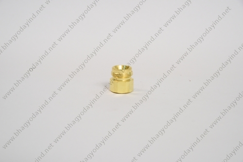 Brass Lighting Hex Nut Parts