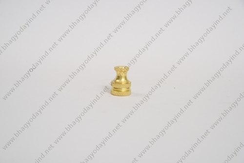 Brass Knurling Decorative Lighting Parts