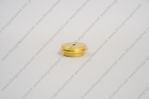 Brass Lighting Round Nut