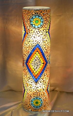 Pipe Mosaic Lamp Shade