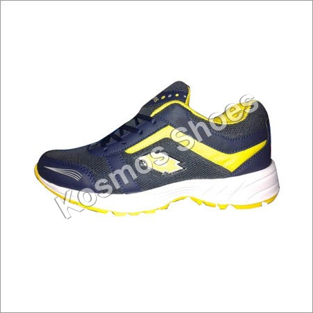 Yellow Sport Shoe