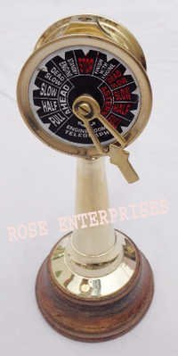 Nautical Collectible Engine Room Ship Telegraph