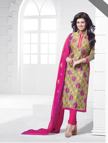 Chaderi Dress Material