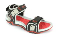 Designer Mens Floaters Black Red