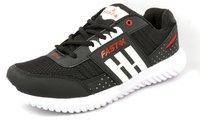 SPORTS SHOES NEW TON BLACK RED