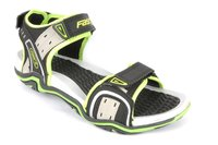 Men Casual Floaters Black F.Green