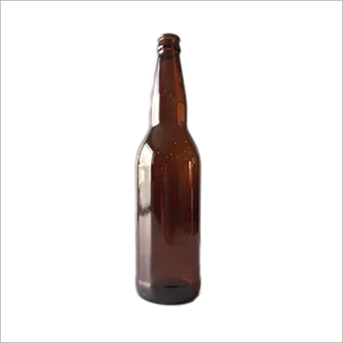 500ml Tall Amber Glass Beer Bottle