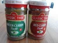 Green Curry Paste And Red Curry Paste