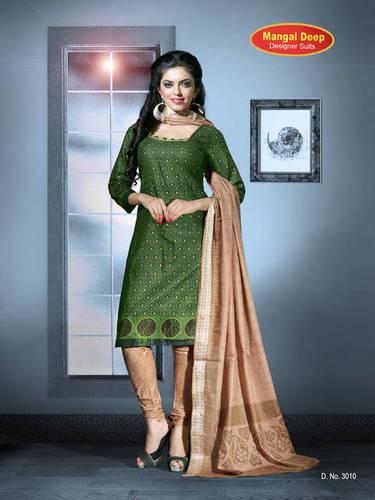 Mangaldeep Cotton dress Materials Online