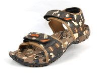 MENS SANDALS BEIGE/BROWN