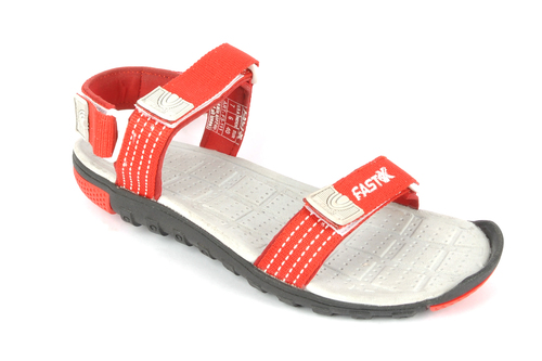 Mens Sandals Red White