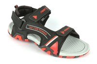 Mens casual floaters Black Red