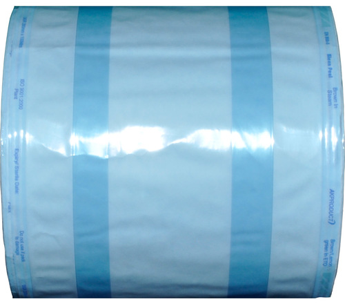 Sterilization Gusset Rolls (Blue Poly)