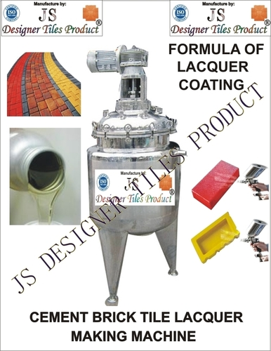 Cement Brick Tile Lacquer polish making machine