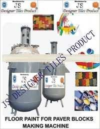Floor paint Interlocking Tiles making machine