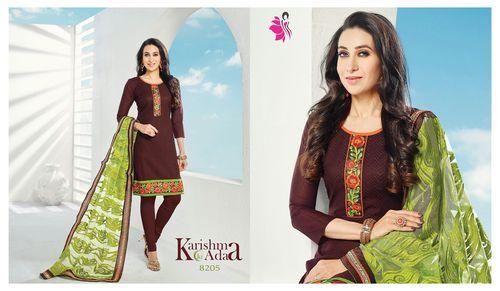 Khushika Suits Karishma Ki Adaa Cataloge Online
