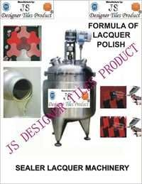 Concrete Sealer Lacquer Polish Making Machine