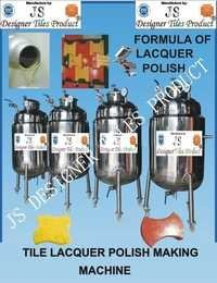 Tile Lacquer Polish Making Machine