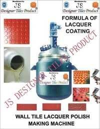 Cement Wall Tile Lacquer Polish Making Machine