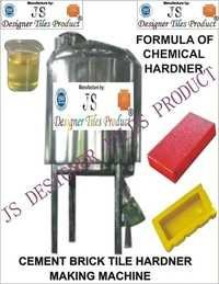 Cement Brick Tile Hardener Chemical Making Machine