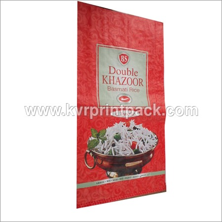 Color Printed BOPP Laminated Bag