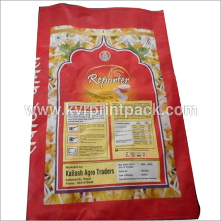 Woven Rice Bags