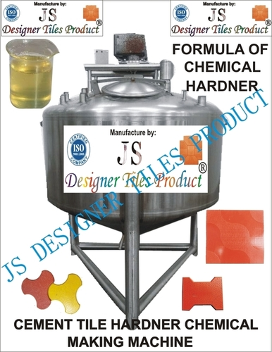 Cement Tile Hardener Making Machine