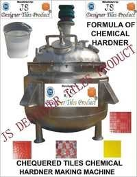 Chequered Tile Chemical Hardener Making Machine