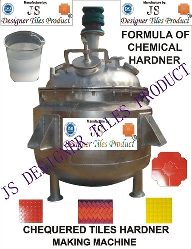 Chequered Tile Hardener Making Machine