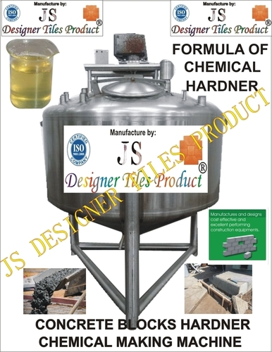 Formula Of Chemical Hardener & Machine