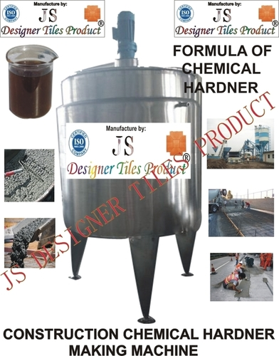 Construction Chemical Hardener Making Machine