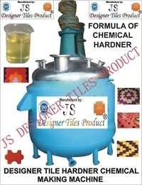 Designer Tile Hardener Making Machine