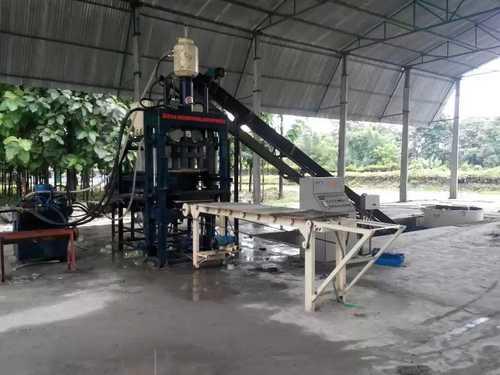 RBM-10 Fly Ash Concrete Brick Making Plant