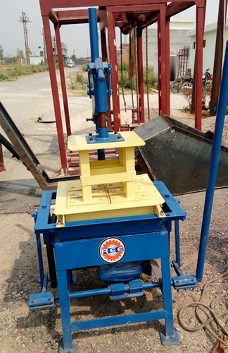 Vibro Press Block Brick Making Machine
