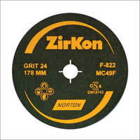 Norton Zirkon Fibre Coated Disc