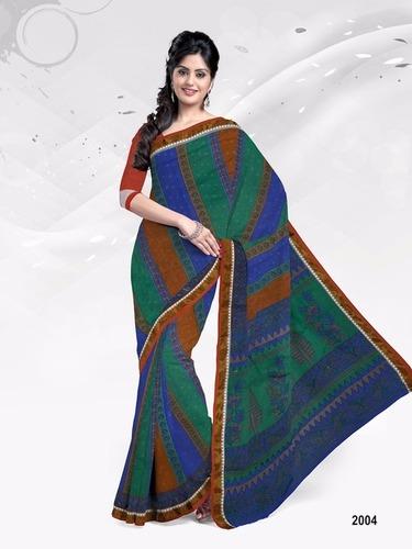 Cotton Print Sarees Jetpur