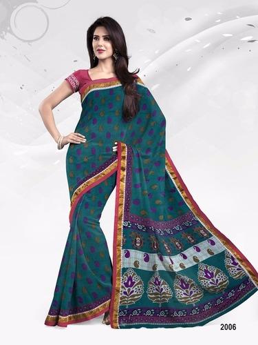 Cotton Sarees Manufacturers & Suppliers Jetpur