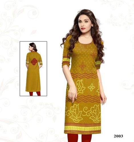 Wholesale Unstitched Kurti Materials Jetpur