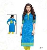 Jetpur Cotton Kurti Materials Manufacturing