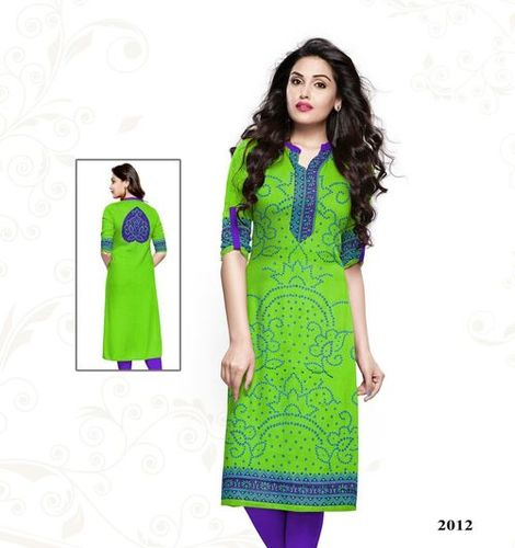 Liwaas Special Satin Cotton Kurti Materials Online